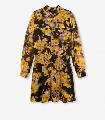 Alix The Label Honey Yellow Flower Dress