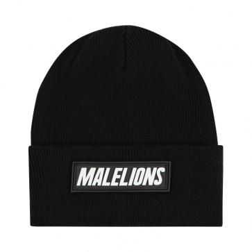 Malelions Black Beanie