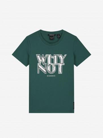 Nik&Nik Why Not T-Shirt Deep Water Green