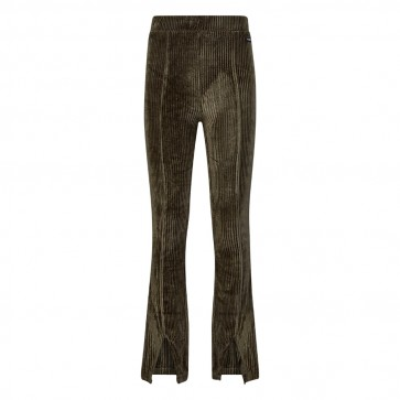 Retour velvet flairpant Dior Khaki