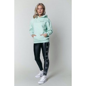 Colourful Rebel The Sun Oversized Hoodie Mint