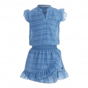 Levv dress maddie mid blue