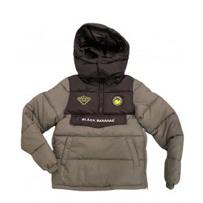 Black Bananas anorak pack jacket grey
