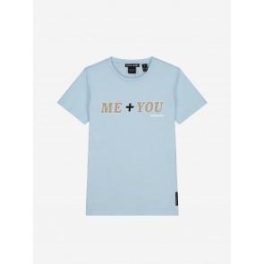Nik&Nik Me+You T-Shirt Soft Blue