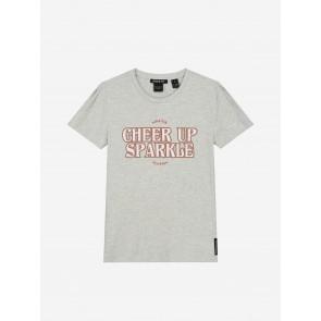 Nik&Nik Sparkle T-shirt light grey