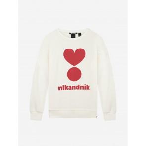 Nik&Nik Valerie Sweater Vintage White