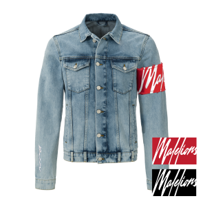 Malelions Captain Denim Jacket - light blue (valt 1 maat kleiner)