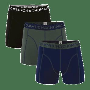 MUCHACHOMALO 3-pack onderbroeken DARK BLUE