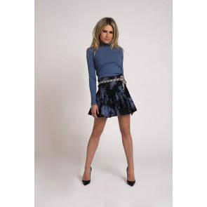 Nikkie by KATE MOSS Steffie Skirt Thunder BLUE