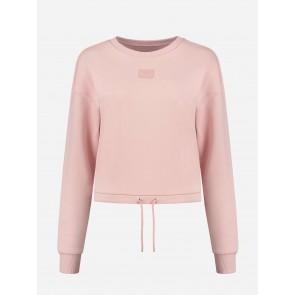Nikkie By Kate Moss Drawstring Sweater Rose Smoke