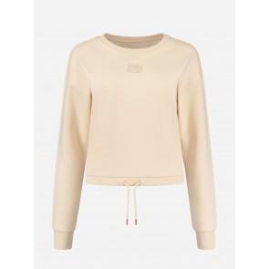 Nikkie By Kate Moss Drawstring Sweater Latte