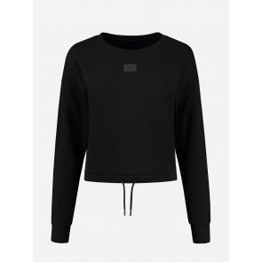 Nikkie By Kate Moss Drawstring Sweater Black