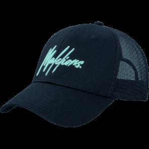 Malelions Junior Signature Cap - Navy/Mint