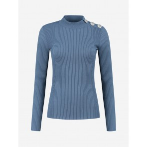 Nikkie by KATE MOSS Kande Top Thunder BLUE